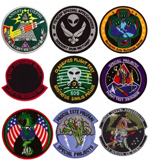 Esoteric World #ops #nro #air #force #black #patches