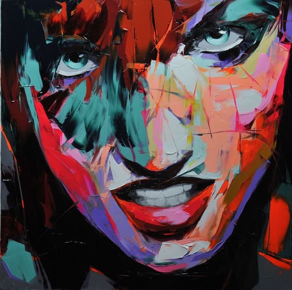 déjà 2012 on the Behance Network #painting #portrait #art