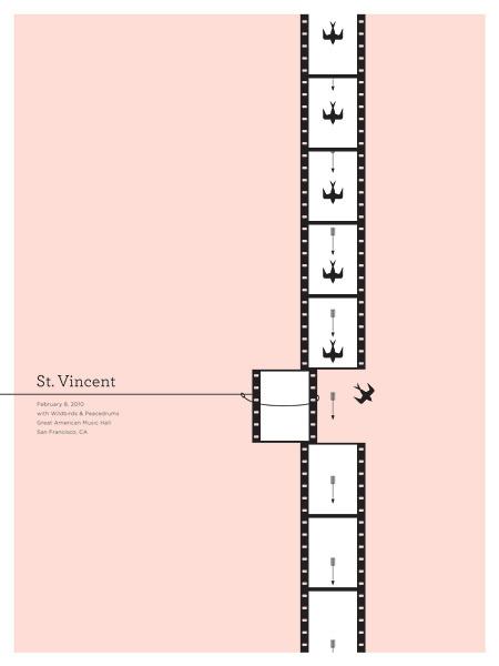 GigPosters.com St. Vincent Wildbirds #tvincent #pink #gig #st #vincent #poster #music