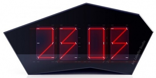 laser clock… it is the future! | Jared Erickson #clock #isometric #laser