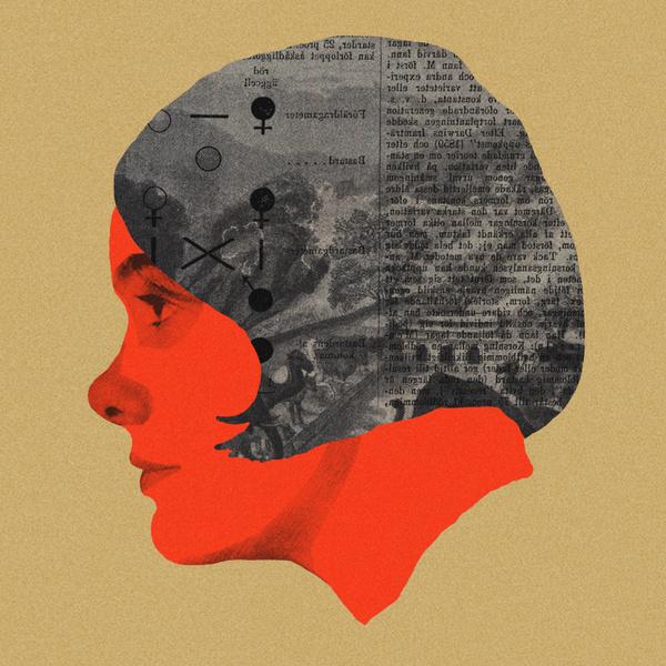 Karin Boye #illustration #portrait #collage
