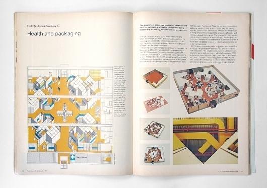 Progressive Architecture Magazine, 1976 | Gridness #grid #print #design #book