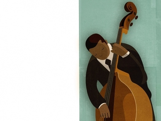 Andrew Lyons #miles #jazz #davis #texture #illustration #lyons #andrew
