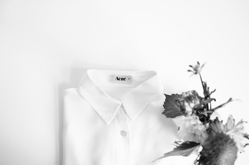 CARBONISLIFExc2xae #white #code #withe #dress #acne