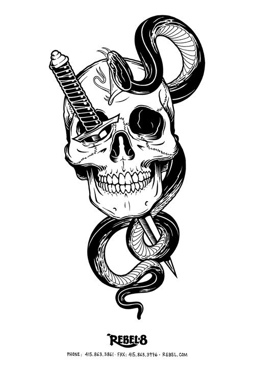 8503580.jpg (500×750) #head #snake
