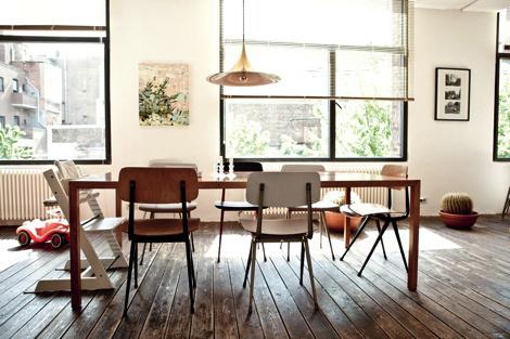 Loft-style apartment #interior