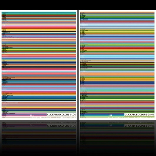 Antrepo / Clickable Colors Poster #colors #design #graphic