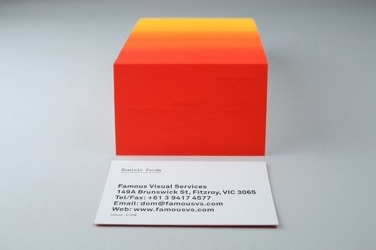 Collate #visual #famous #business #services #melbourne #gradient #cards