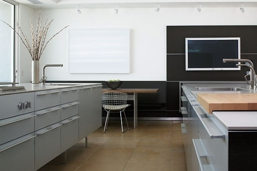 "PLASTOLUX ""keep it modern"" » Dominique Vorillon photography #interior #bertoia #chair #kitchen #architecture"