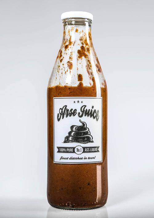 herr heer #bottle #design #shit #arse #photography #juice