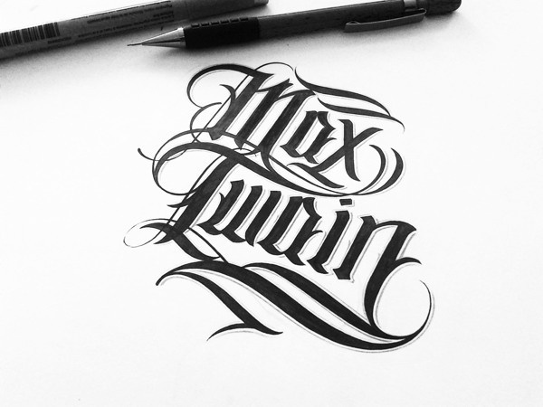 Handlettered Logotypes II on Behance #lettering #ink #drawn #hand #typography