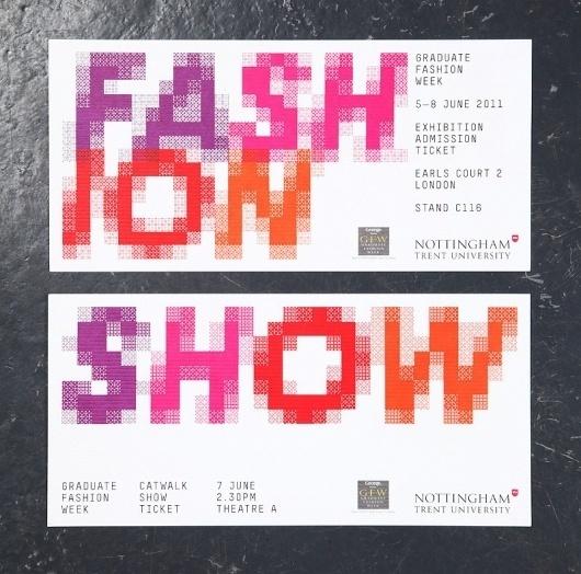 NTU GFW 2011 : Andrew Townsend / Bench.li #digital #color #typography
