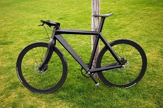 Fancy #bicycle #frame #nighthawk #black