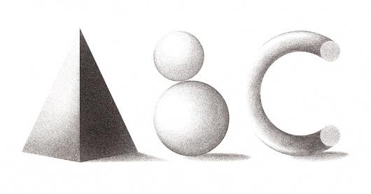 Andrew Woodhead - Work - ABCÂ Paris #woodhead #texture #shape #abc #andrew