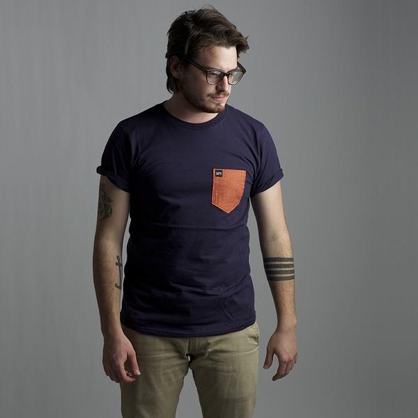 Polka Pocket | Bare & Hatchet #apparel #photo #stripes #design #shirt #pocket #tattoo #tee #anchor #polka