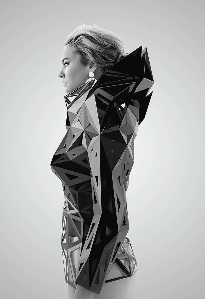 parametric architectural techniques in clothing #fashion #clothing #architectural
