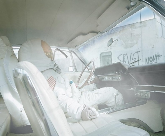 Astronaut Suicides #astronaut #photography #car