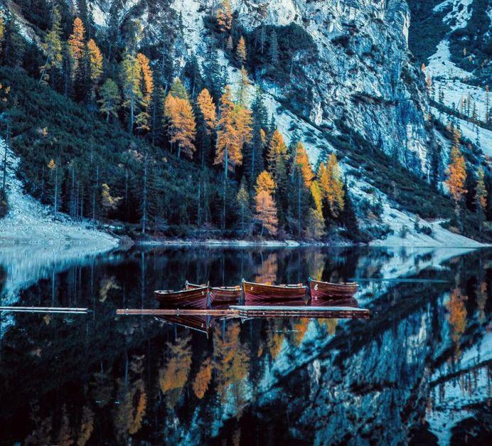 Magnificent Landscape Reflections by Davide Anzimanni