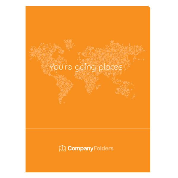 best folder orange travel template presentation images on, Presentation templates