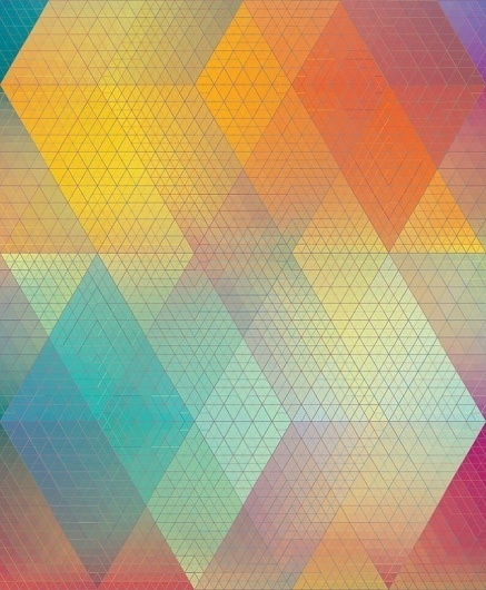 .tumblr | GMUNK #grid #digital #triangle #tesselation #gradient