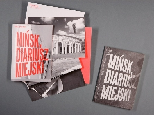 NODE Berlin Oslo — Minsk Urban Diary #node #design #book #type #editorial