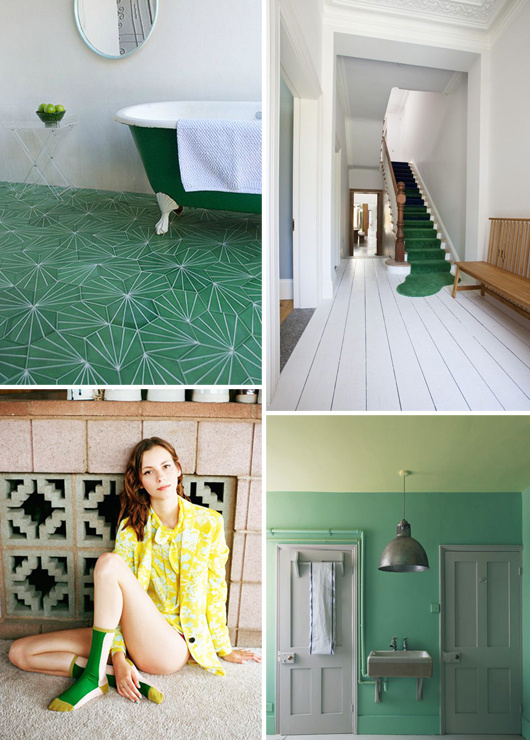 green decor ideas #interior #design #decor #deco #decoration