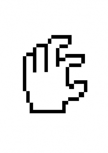 Chehad Abdallah #white #pixel #black #digital #finger #hand #eastcoast