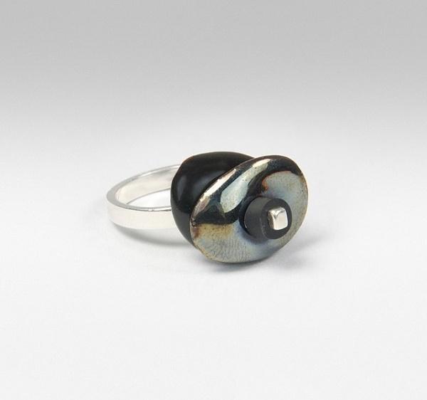 Modjool - Contemporary Modular Jewellery — Build Ring #black #jewellery