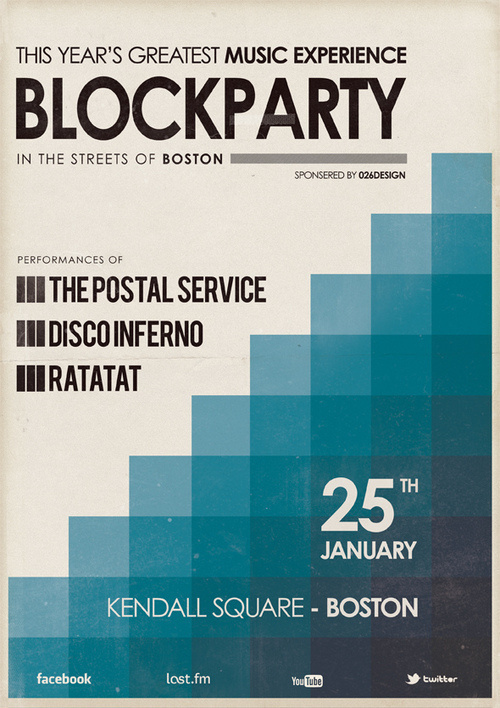 Tumblr #block #print #poster #party