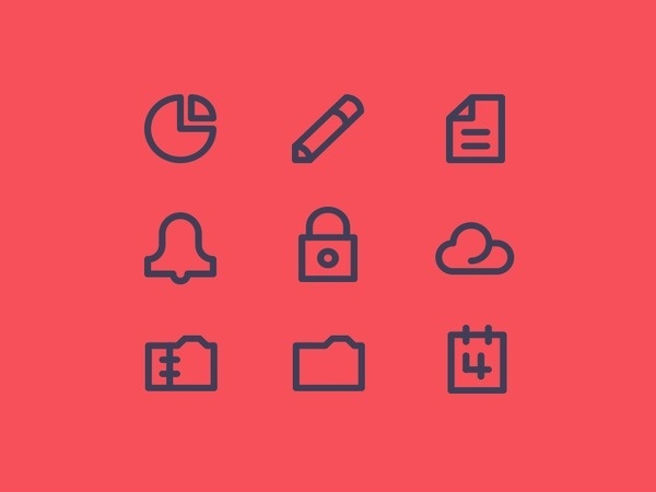 Simple Icons #pictogram #icon #design #picto #symbol