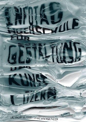 > Infotag 2005 #c2f #swiss #poster #typography