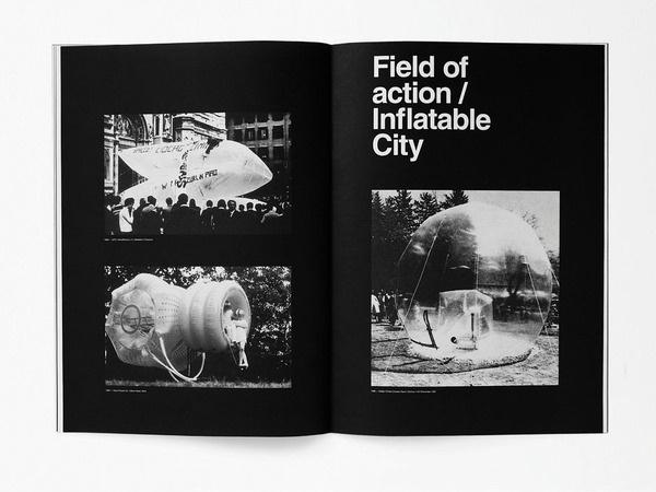 ARTIVA DESIGN #print #city #monochrome #grid #radical #typography