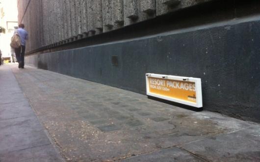 Mini billboards Lego – Paperplane #lego #billboard