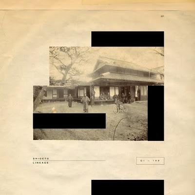 Plastic Circles: Shigeto - Lineage by Michael Cina #michael #shigeto #sleeve #record #ghostly #cina