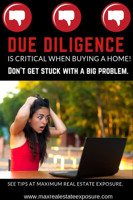 Due Diligence When Buying a House