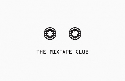 Butter #casette #tape #white #mixtape #black #the #dots #mix #ocr #logo #holes #club