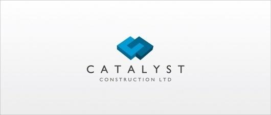 Catalyst Construction – Logo Design | UK Logo Design #logo #design