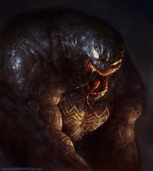Venom! #digital #illustration #venom #marvel