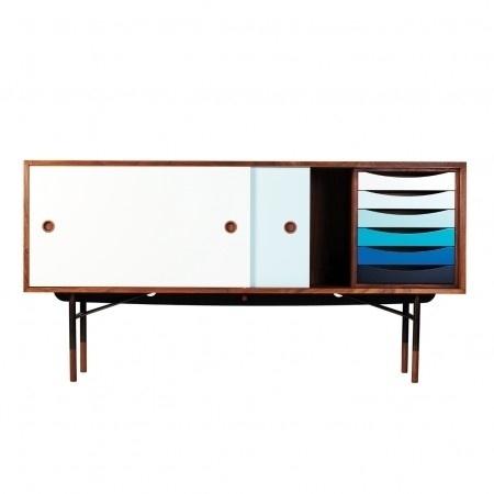 Drawers by House Of Finn Juhl » ISO50 Blog – The Blog of Scott Hansen (Tycho / ISO50) #modern #juhl #design #color #drawers #furniture #finn