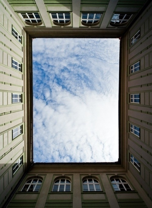 CFDA's {FASHION INCUBATOR} #photography #architecture #sky