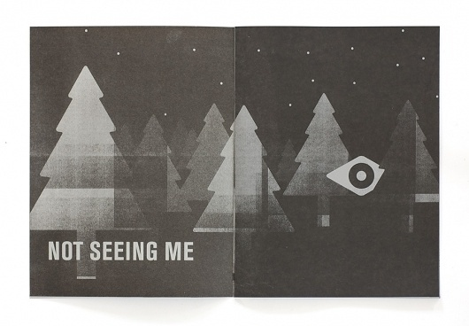 I See You Not Seeing Me – Works of Designer Colin Dunn #dunn #colin #print #black #spread