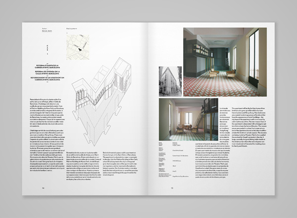 magspreads editorial design and magazine layout inspiration quaderns architecture magazine print architecture - Design Architecture Magazine