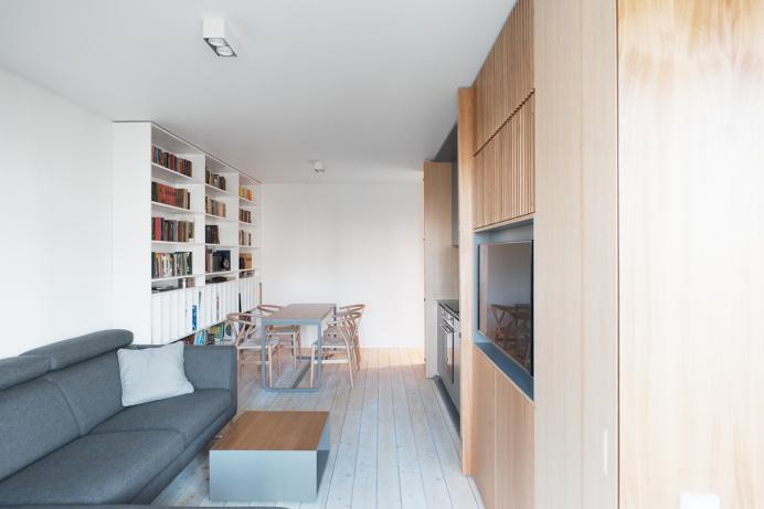 Wood Box Apartment