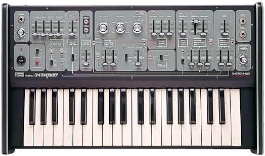 Visualized: 37 years of Roland synths in one awesome animated GIF -- Engadget #roland #synth #vintage #gif #music #electronic