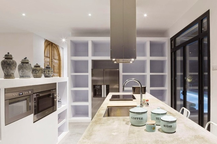 A House by 08023 Architects #ideas #kitchen #interiors