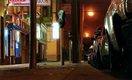 CORO SF | EMPTY KINGDOM You are Here, We are Everywhere #lights #night #coro #painting #art #car