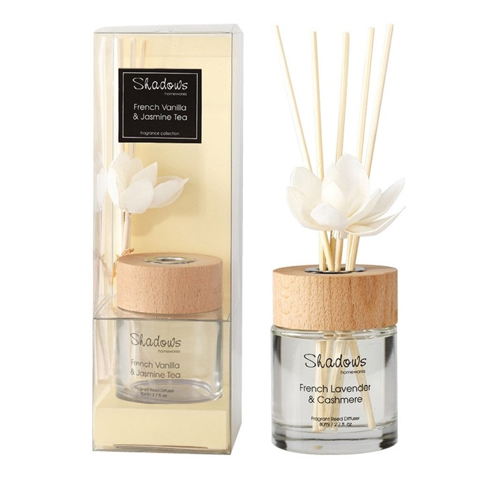 Fragrant Solar Flower Diffuser French Vanilla & Jasmine Tea, 80 ml