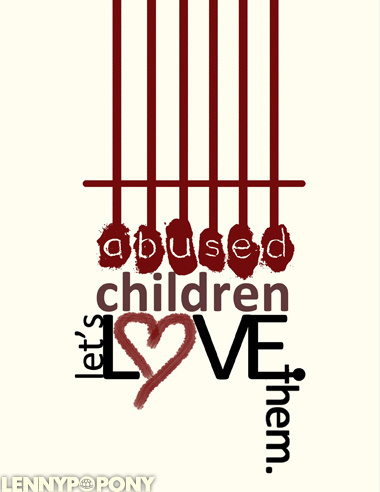 This image is an advocacy for the abused children. #kid #children #abused #love