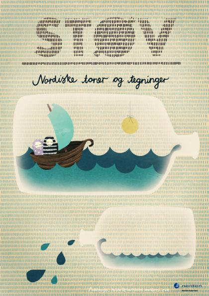 Michelle Carlslund Illustration: STØV #sun #water #nordic #sailor #danish #illustration #sea #scandinavian #boat #poster #copenhagen #sail #tv #waves