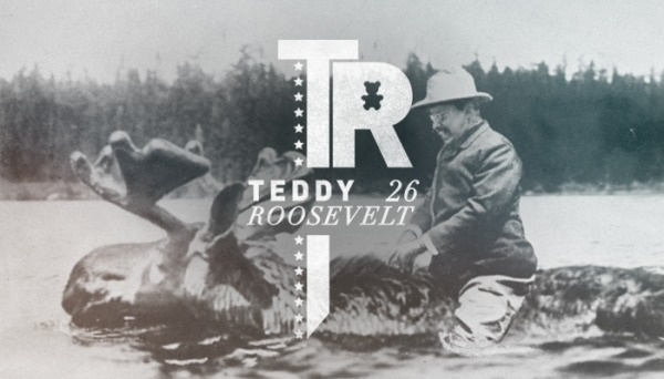 Branding the Presidents of the United States #branding #american #roosevelt #president #logo #moose #usa #typography